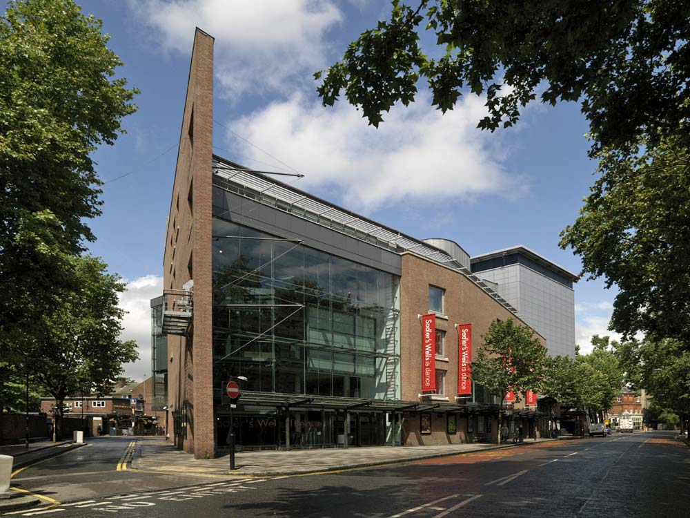 Sadler's Wells Theatre.<br />© Derek Kendall. (Click image for larger version)