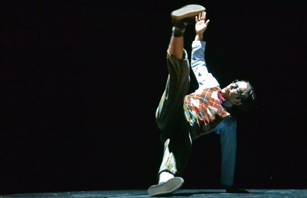 Tommy Franzen in <I>Some Like it Hip-Hop</I>.<br />© Dave Morgan. (Click image for larger version)