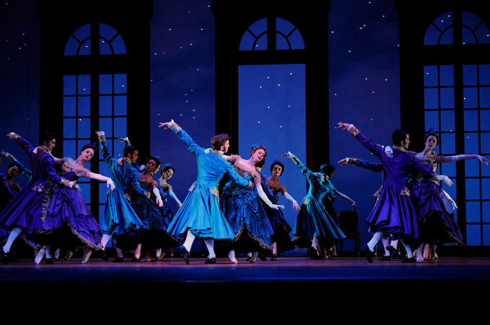 San Francisco Ballet in Wheeldon's <I>Cinderella</I>.<br />© Erik Tomasson. (Click image for larger version)