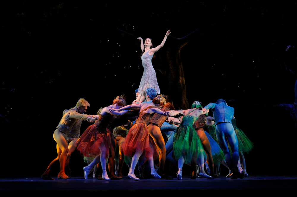 San Francisco Ballet in Wheeldon's Cinderella.© Erik Tomasson. (Click image for larger version)