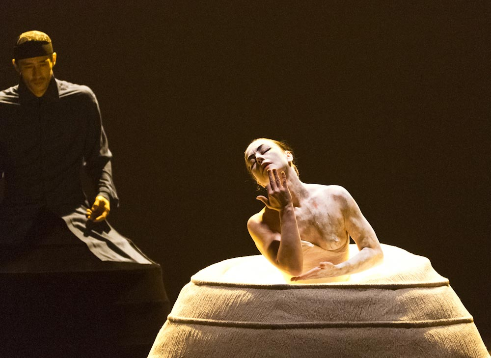 Catherine Schaub Abkarian and Denis 'Koone' Kuhnert in iTMOi.© Foteini Christofilopoulou. (Click image for larger version)