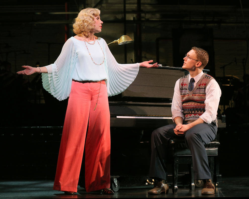 Christine Baranski and Shonn Wiley in On Your Toes.© Joan Marcus. (Click image for larger version)