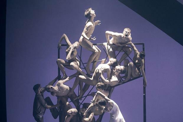 Eifman Ballet in <I>Rodin</I>.<br />© Nikolay Krusse. (Click image for larger version)
