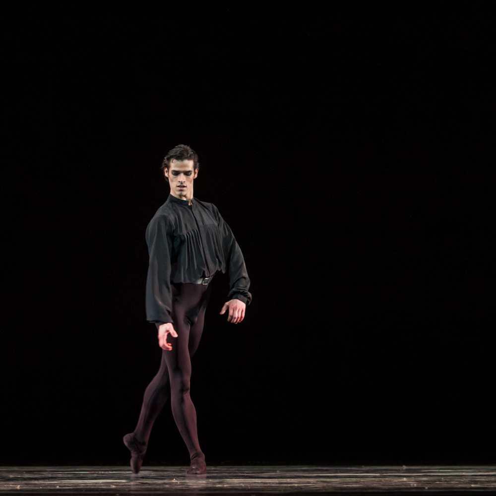 Andrey Sorokin in Five Tangos.© Sergei Gutnik. (Click image for larger version)