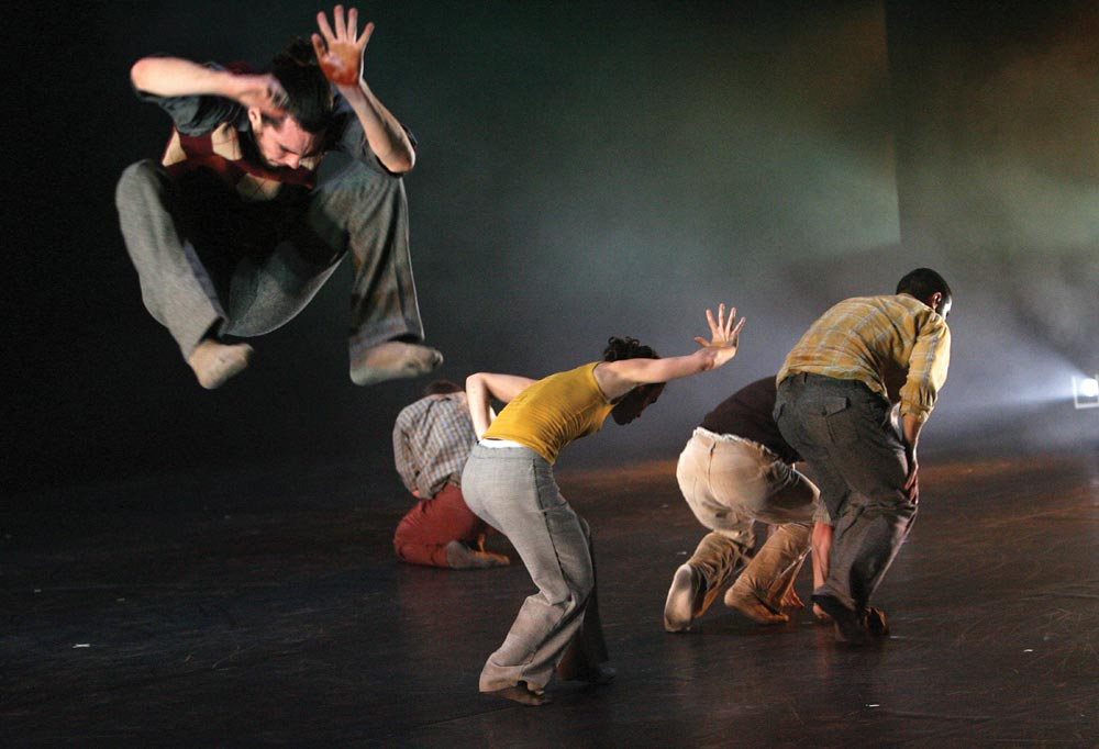 Hofesh Shechter's <I>In Your Rooms</I>.<br />© Tristram Kenton. (Click image for larger version)