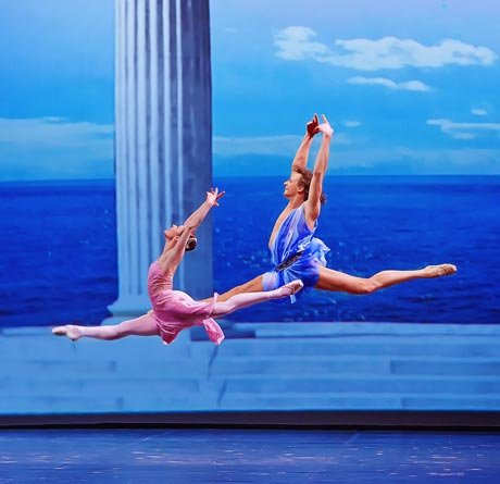Elena Evseeva and Marat Shemiunov in <I>Spring Waters</I>.<br />© Vladimir Cherenkov. (Click image for larger version)