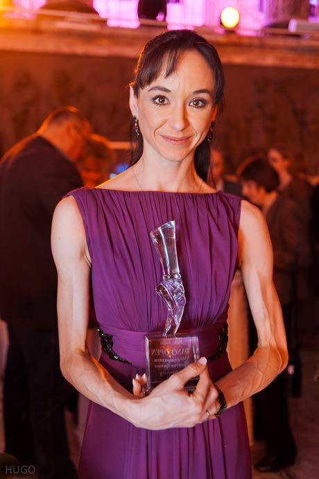Lucia Lacarra, winner of the Grand Prix Award.<br />© Vladimir Sidorenko. (Click image for larger version)