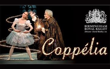 BRB Coppelia publicity image.© Birmingham Royal Ballet.
