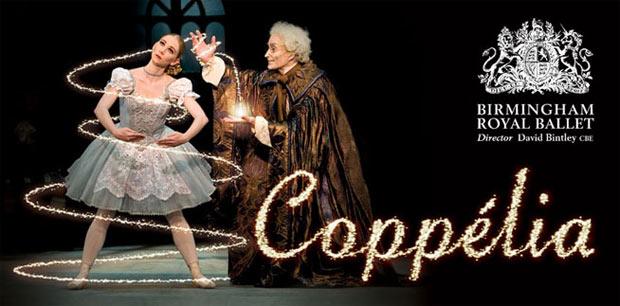 BRB <I>Coppelia</I> publicity image.<br />© Birmingham Royal Ballet.