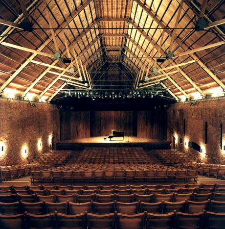 Snape Maltings Concert Hall.© Nigel Luckhurst. (Click image for larger version)