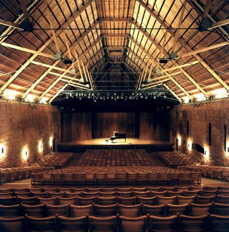 Snape Maltings Concert Hall.<br />© Nigel Luckhurst. (Click image for larger version)