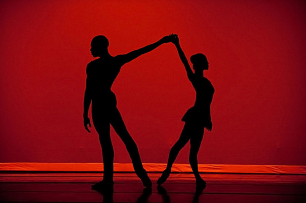 Dance Theatre of Harlem in <I>Return</I>.<br />© Rachel Neville. (Click image for larger version)
