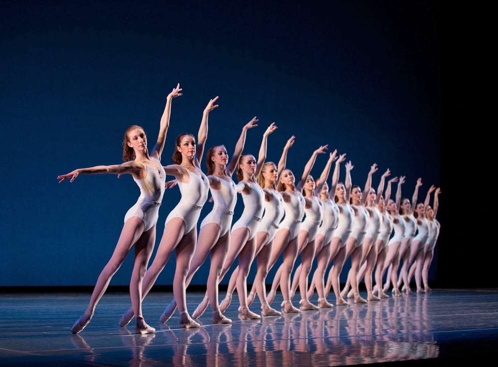 Boston Ballet in Symphony in Three Movements.© Rosalie O'Connor. (Click image for larger version)