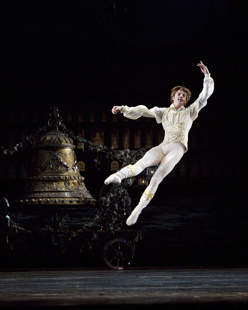 Jo Caley as Franz in Coppelia.© Roy Smiljanic. (Click image for larger version)