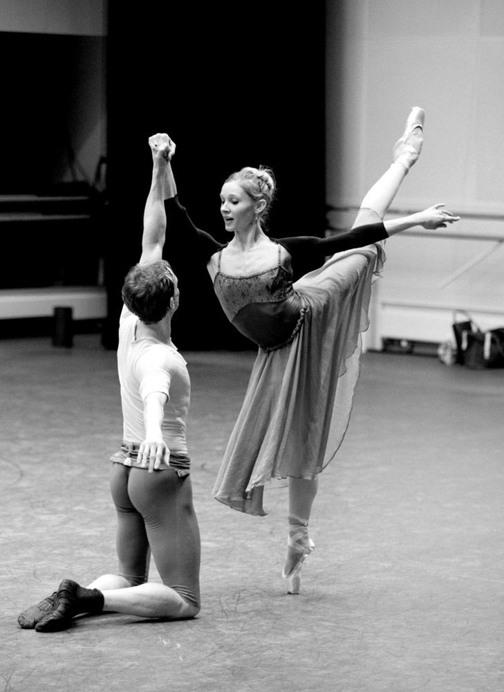 "Melissa Hamilton and Edward Watson.<br />© Andrej Uspenski. (Click image for larger version)<br />Taken from: DANCERS: Behind the Scenes with the Royal Ballet by Andrej Uspenski.<br />Published by Oberon Books: <a href=""http://www.oberonbooks.com"">www.oberonbooks.com</a>"