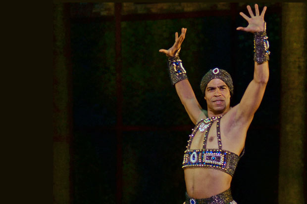 Carlos Acosta in <I>Scheherazade</I>.<br />© Dave Morgan. (Click image for larger version)