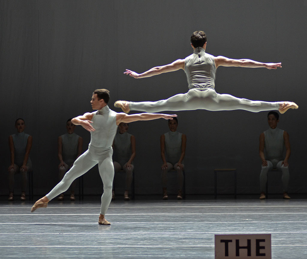 Boston ballet in William Forsythe's The Second Detail.© Dave Morgan. (Click image for larger version)