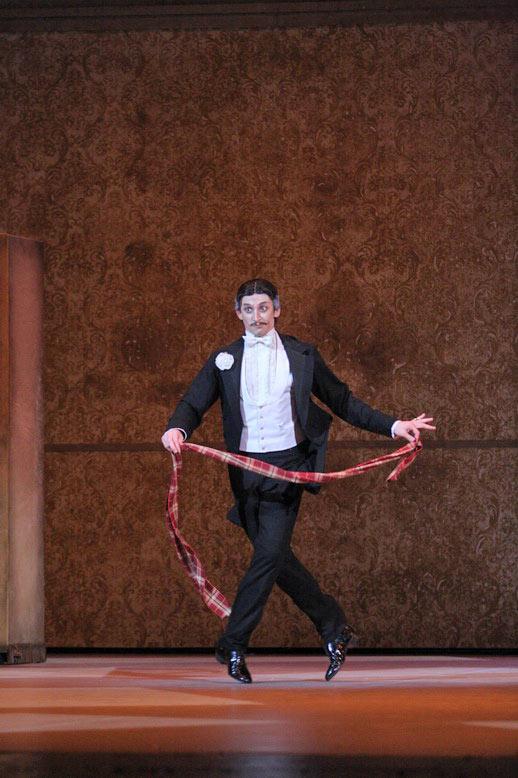 Anton Domashev as Coppélius in Petit's Coppelia.© E Fetisova. (Click image for larger version)