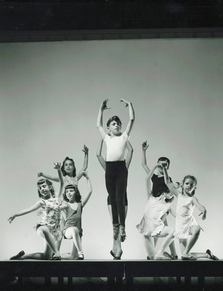 Edward Villella at the School of American Ballet (SAB).© George Platt Lynes, courtesy Edward Villella. (Click image for larger version)
