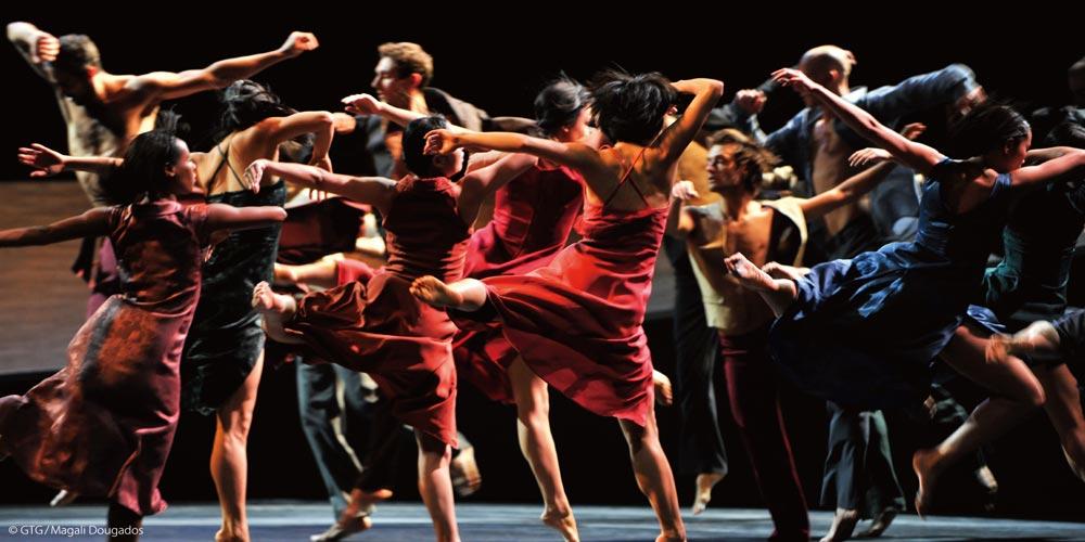 Geneva Ballet in Romeo and Juliet.© GTG/Magali Dougados. (Click image for larger version)