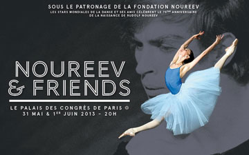 Noureev & Friends Gala poster.© Noureev & Friends. (Click image for larger version)
