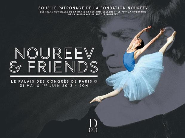 Noureev & Friends Gala poster.<br />© Noureev & Friends. (Click image for larger version)