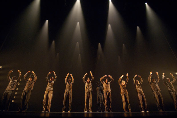 Hofesh Shechter Company in <I>Political Mother</I>.<br />© Simona Boccedi. (Click image for larger version)
