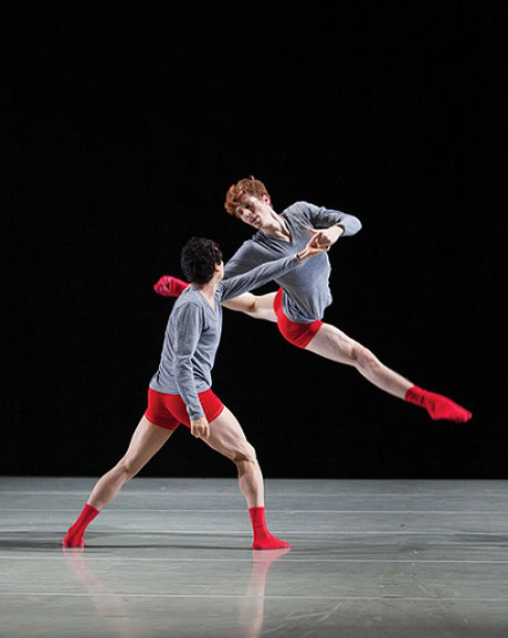 Andrew Bartee and Vincent Lopez in Wevers' <I>Monster</I>.<br />© Bamberg Fine Art.