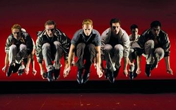 Joey McKneely/Jerome Robbins production of West Side Story.© Nilz Bohme. (Click image for larger version)