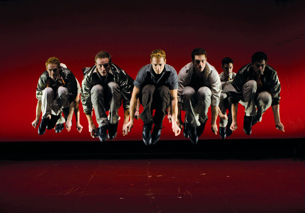 Joey McKneely/Jerome Robbins production of <i>West Side Story</i>.<br />© Nilz Bohme. (Click image for larger version)