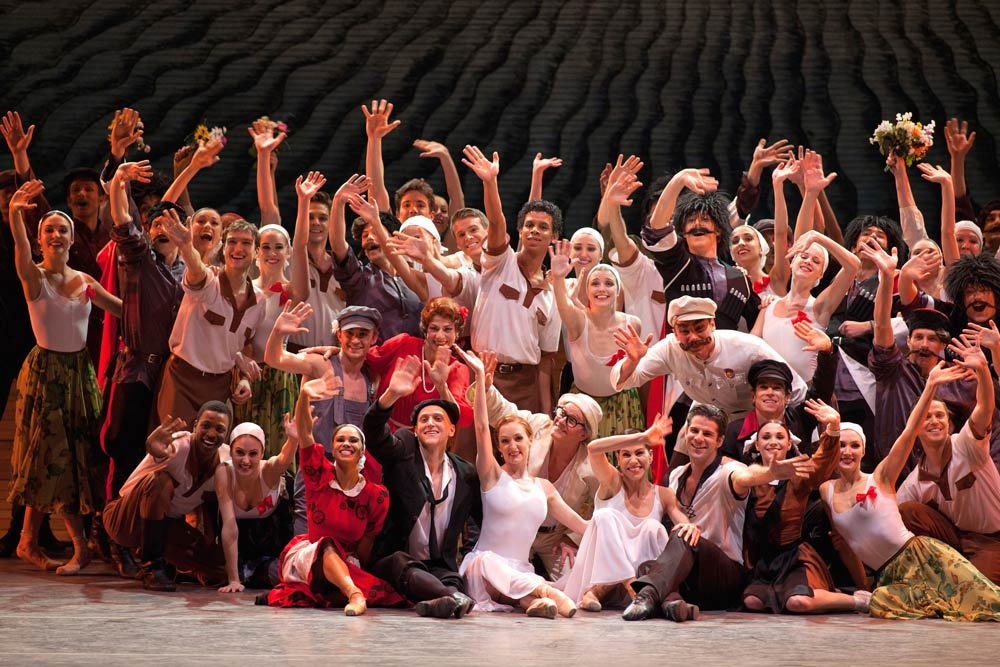 American Ballet Theatre in Alexei Ratmansky's The Bright Steam.© Rosalie O'Connor. (Click image for larger version)