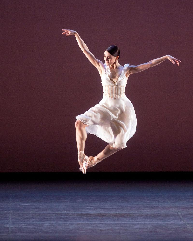 Sarah Lane in Alexei Ratmansky's Seven Sonatas.© Rosalie O'Connor. (Click image for larger version)