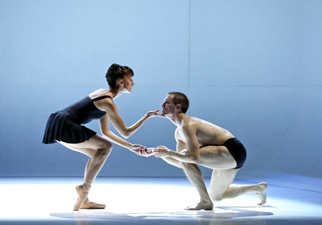 Luciana Ravizzi and Constant Vigier in Christopher Hampson's <I>The Rite of Spring</I>.<br />© Andrew Ross. (Click image for larger version)