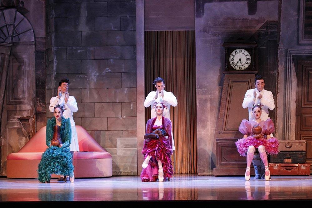 Australian Ballet in <I>Cinderella</I>.<br />© Jeff Busby. (Click image for larger version)