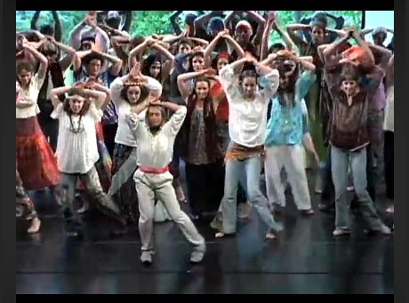 """Video of Twyla Tharp's <I>The One Hundreds</I>, recorded at Jacob's Pillow on 1 July 2001 - with Tharp herself in the lead. Sadly we can't embed the video on this page but clicking on the picture will take you to the <a href=""""http://danceinteractive.jacobspillow.org/dance/twyla-tharp"""">Jacob's Pillow page</a> where you can see it - do take a look.<br />© Jacob's Pillow Dance Festival Inc."""