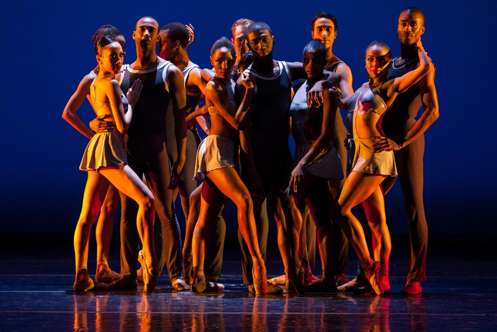 Dance Theatre of Harlem in Return.© Matthew Murphy. (Click image for larger version)