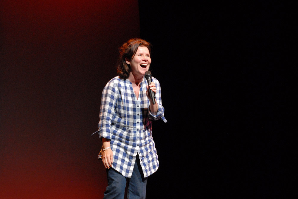 Imelda Staunton at the YBSS gala 2011.© Sophie Harris-Taylor. (Click image for larger version)