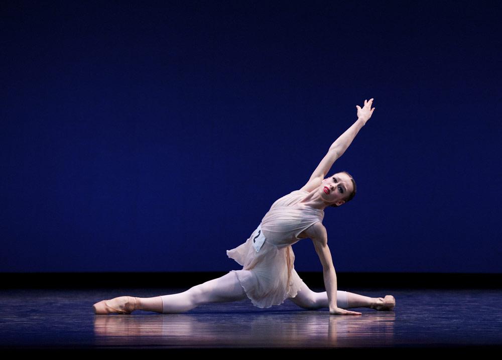 Silver medallist Sasha Leong from Sydney Ballet School.© Andrew Ross. (Click image for larger version)