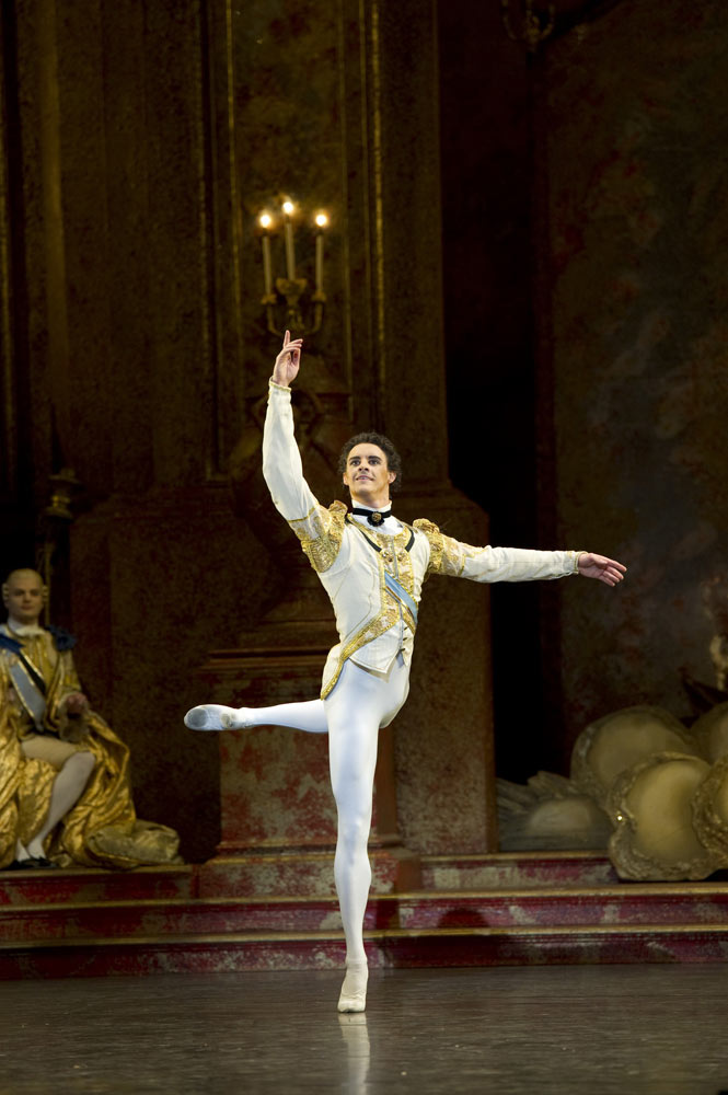 Iain Mackay in <I>The Sleeping Beauty</I>.<br />© Bill Cooper. (Click image for larger version)