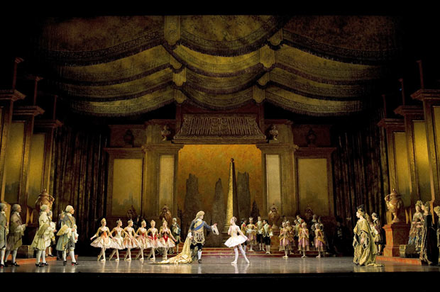 Birmingham Royal Ballet in <I>The Sleeping Beauty</I></I>.<br />© Bill Cooper. (Click image for larger version)