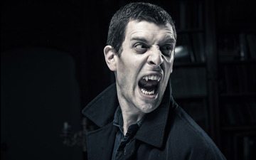 Jonathan Goddard as Dracula.© Colin Hawkins. (Click image for larger version)