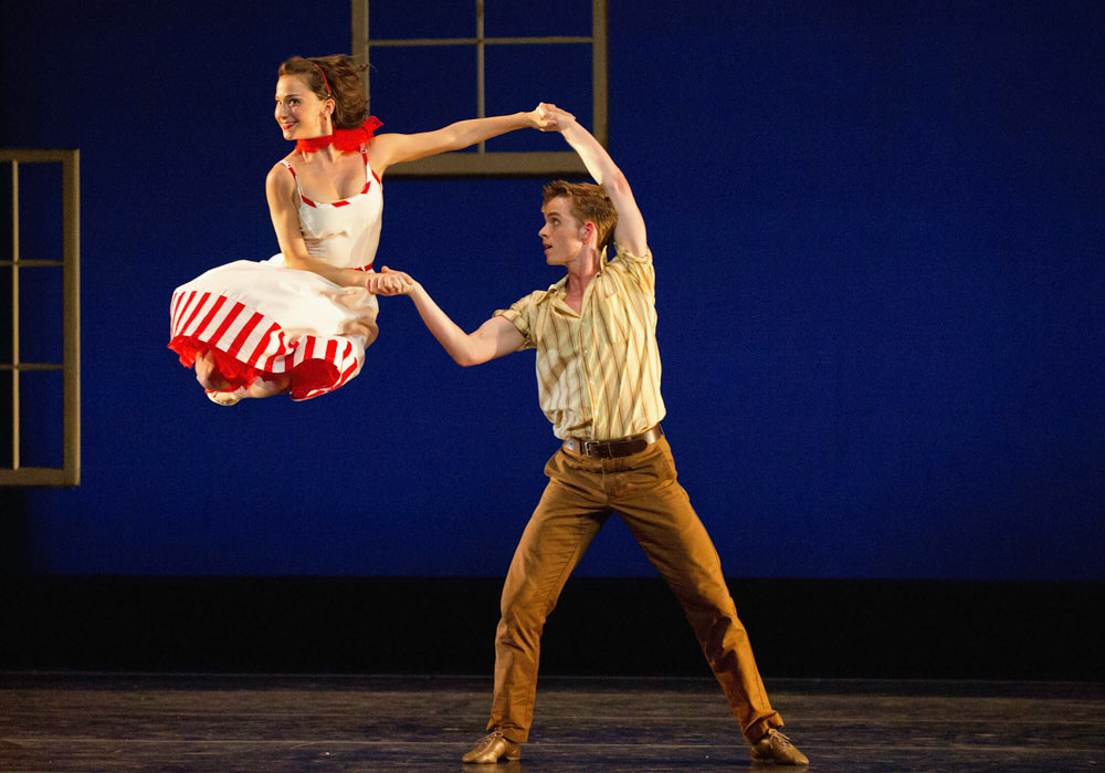Terez Dean and Christian Squires in Amy Seiwert's Dear Miss Cline.© David DeSilva. (Click image for larger version)