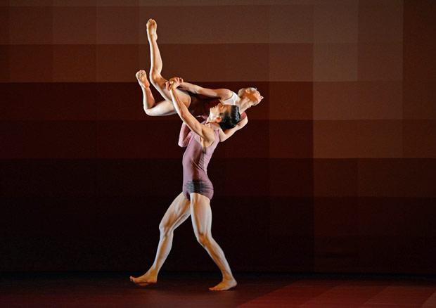 James Pett and Daniela Neugebauer in Atomos.© Dave Morgan. (Click image for larger version)