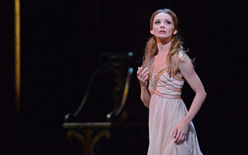 Evgenia Obraztsovain Romeo and Juliet.© Dave Morgan, courtesy the Royal Opera House. (Click image for larger version)