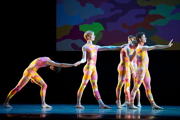 San Francisco Ballet in Morris' <I>Beaux</I>.<br />© Erik Tomasson. (Click image for larger version)