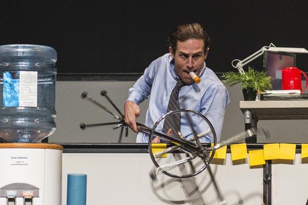 Kristjan Ingimarsson in <I>BLAM!</I>.<br />© Foteini Christofilopoulou. (Click image for larger version)