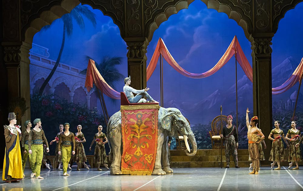 Boston Ballet in La Bayadere.© Gene Schiavone. (Click image for larger version)