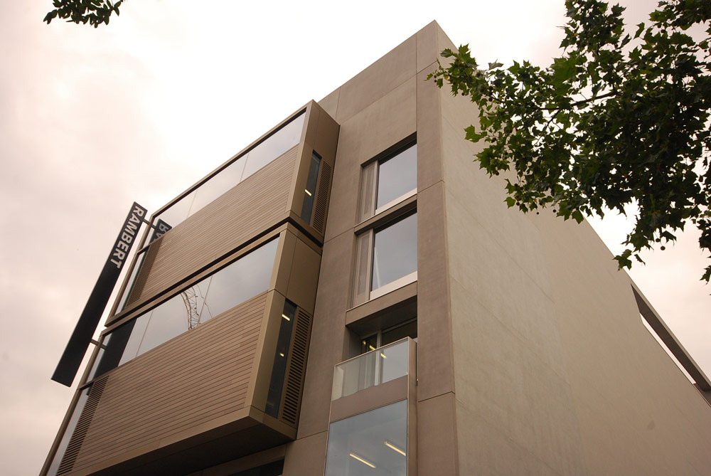Rambert's new purpose-built home on the South Bank.© Rambert. (Click image for larger version)