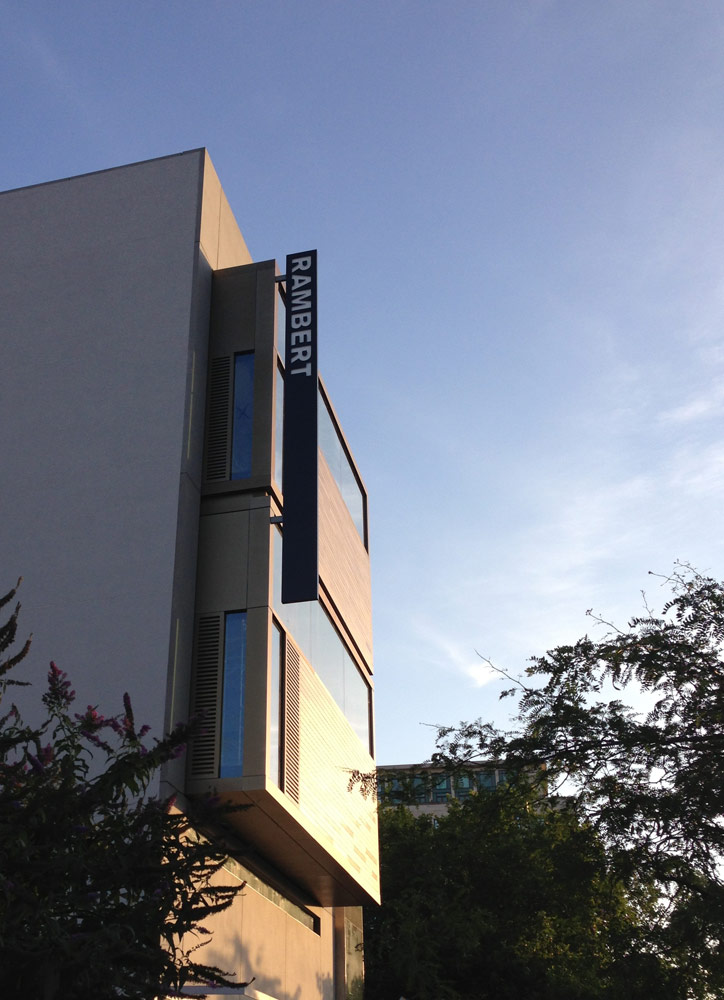Rambert's new purpose-built home on the South Bank.<br />© Rambert. (Click image for larger version)