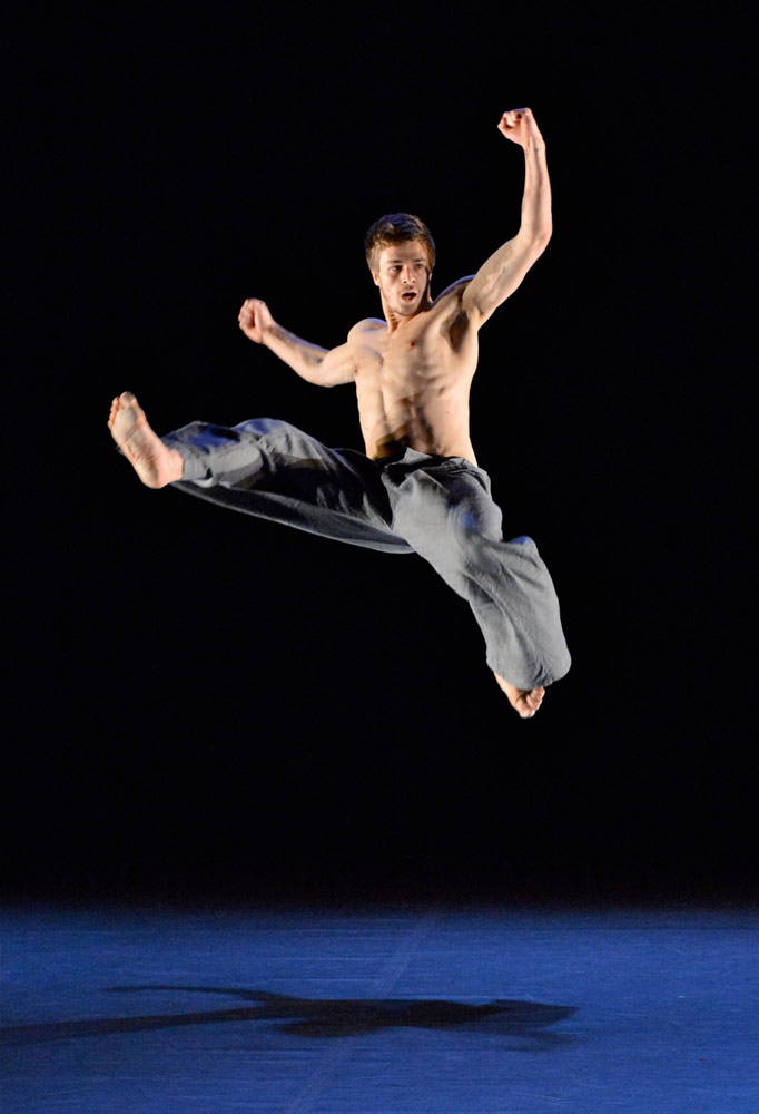 Josh Wille in Jose Agudo's Ki.© Brian Slater. (Click image for larger version)